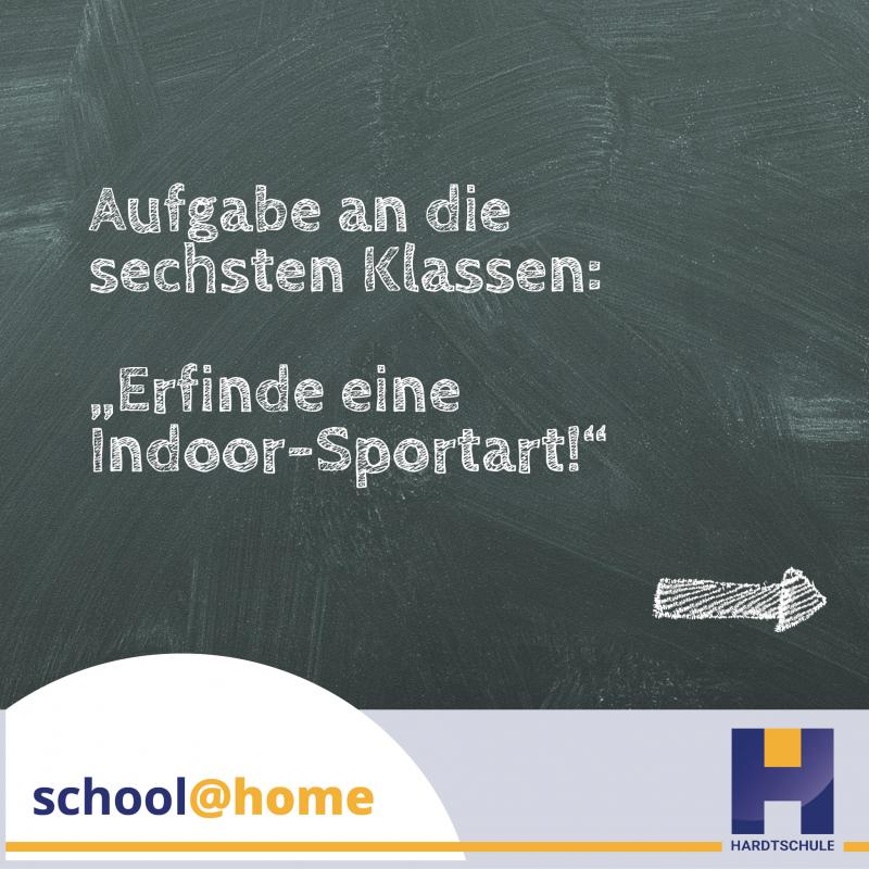 school@home – Indoor-Sportarten