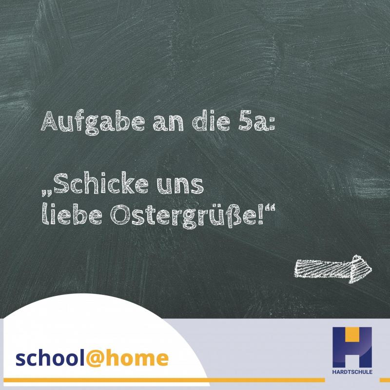 school@home – Ostergrüße